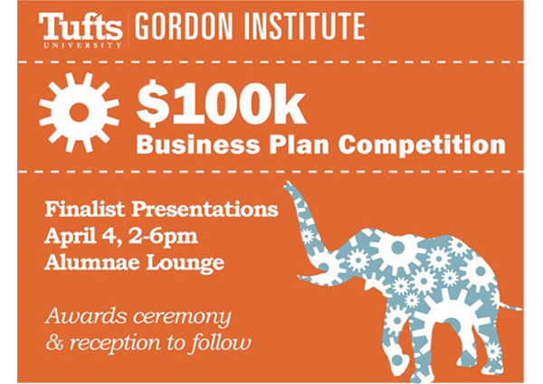 100K Business Plan Competition flyer